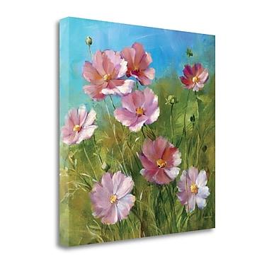 Tangletown Fine Art Summer Field III' Print on Canvas; 24'' H x 24'' W
