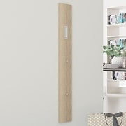 Rebrilliant Wall Mounted Coat Rack; Sonoma Oak