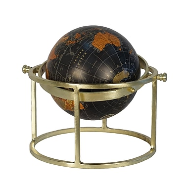 Darby Home Co Globe on Ring Stand Sculpture