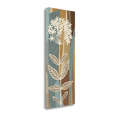 Tangletown Fine Art 'Pieces of Nature IV' Graphic Art Print on Canvas; 40'' H x 16'' W