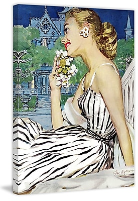 Marmont Hill 'Walk to the Dance' by Joe de Mers Painting Print on Wrapped Canvas; 30'' H x 20'' W