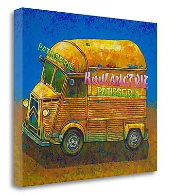 Tangletown Fine Art 'Van Ordinaire Boulangerie' Print on Wrapped Canvas; 21'' H x 26'' W