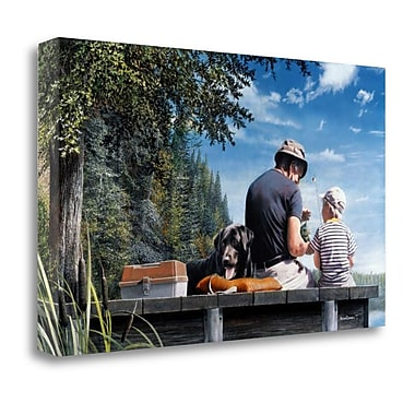 Tangletown Fine Art 'A Sunny Day' Print on Canvas; 18'' H x 29'' W