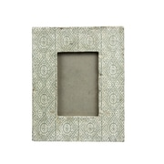 Bungalow Rose 4x6 Cement Photo Picture Frame