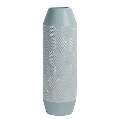 Bungalow Rose Blue Decorative Ceramic Table Vase