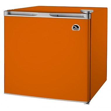 Igloo – Refrigérateur bar FR115-ORANGE de 1,6 pi cubique, orange
