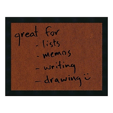 Amanti Art Framed Dry Erase Board Medium, Football, 22