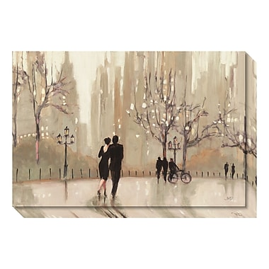 Amanti Art Canvas Art Gallery Wrap 'An Evening Out Neutral' by Julia Purinton, 30