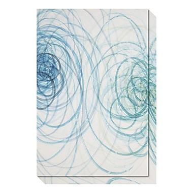 Amanti Art – Toile galerie par Candice Alford, eaux calmes (abstrait), 20 x 30 po (DSW3466709)