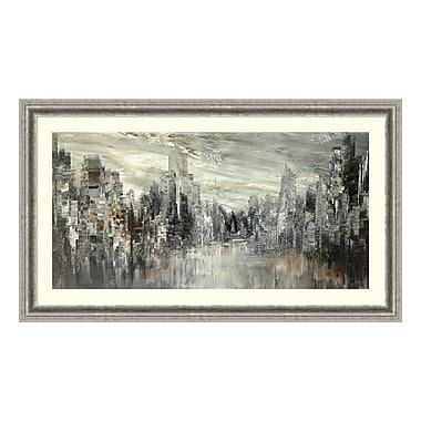 Amanti Art – Impression encadrée par Tatiana Iliina, ville du siècle, 43 x 25 po (DSW3894363)