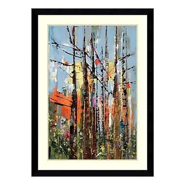 Amanti Art – Impression encadrée par Rebecca Meyers, « Forêt éclectique », 33 x 45 po (DSW3910575)