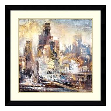 Amanti Art – Impression encadrée par Bruce Marion, « Balade en ville 2 », 33 x 33 po (DSW3908980)