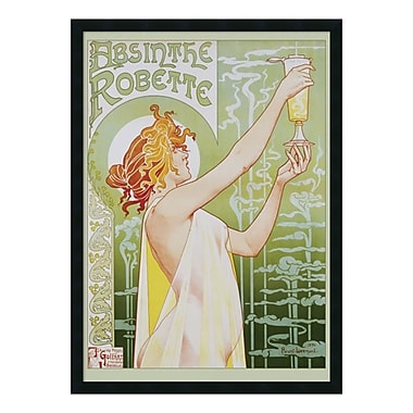 Amanti Art Framed Art Print Robette Absinthe, 1896 by Privat Livemont, 26