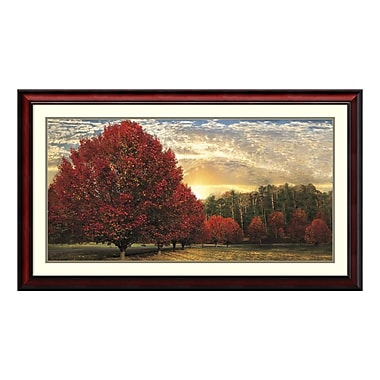 Amanti Art Framed Art Print 'Crimson Trees' by Celebrate Life Gallery, 43