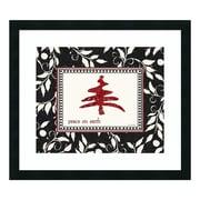 "Amanti Art Framed Art Print 'Peace On Earth (Christmas)' by Jo Moulton, 25"" x 22"" (DSW3414816)"