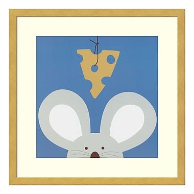 Amanti Art – Impression encadrée par Yuko Lau, coucou V : souris, 17 x 17 po (DSW3415007)