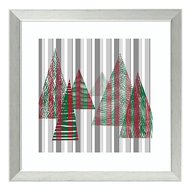 Amanti Art Framed Art Print 'Oh Christmas Tree II' by Sharon Chandler, 18