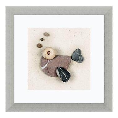 Amanti Art – Impression encadrée de « Stonefish I » par Ian Winstanley, 14 x 14 po (DSW3420017)