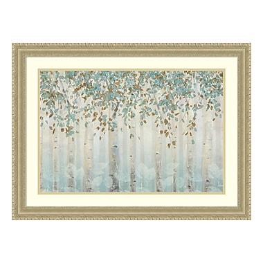 Amanti Art – Reproduction encadrée de « Dream Forest I » par James Wiens, 31 x 23 po (DSW3422392)