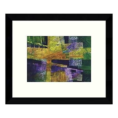 Amanti Art – Reproduction encadrée de « 589 Abstract » par Lisa Fertig, 11 x 9 po (DSW3422413)