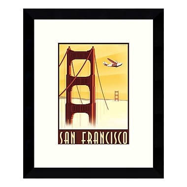 Amanti Art – Impression encadrée de « San Francisco » par Steve Forney, 9 x 11 po (DSW3422425)
