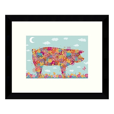 Amanti Art Framed Art Print 'Hog' by Teofilo Olivieri, 11