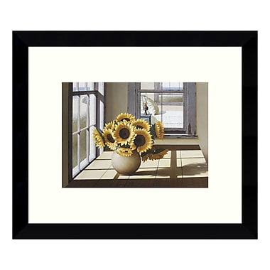 Amanti Art Framed Art Print 'Sunflowers' by Zhen-Huan Lu, 11