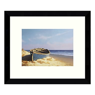 Amanti Art – Impression encadrée par Zhen-Huan Lu, « Sunset (Beach) », 11 x 9 po (DSW3422742)