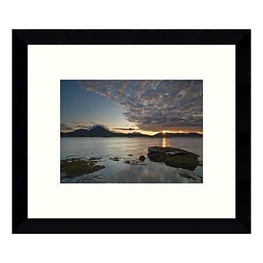 Amanti Art Framed Art Print 'Broadford Sunset II' by Robert Strachan, 11