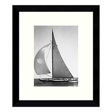 Amanti Art – Impression encadrée de « Full Front Sail, 1936 (Boat) », 9 x 11 po (DSW3428318)