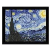 "Amanti Art Framed Art Print 'Starry Night' by Vincent van Gogh, 11"" x 9"" (DSW3451147)"