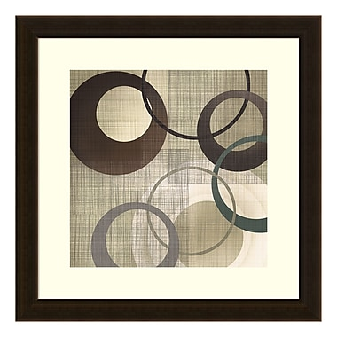 Amanti Art – Imprimé encadré « Hoops and Loops II » par Tandi Venter, 18 x 18 po (DSW3581620)