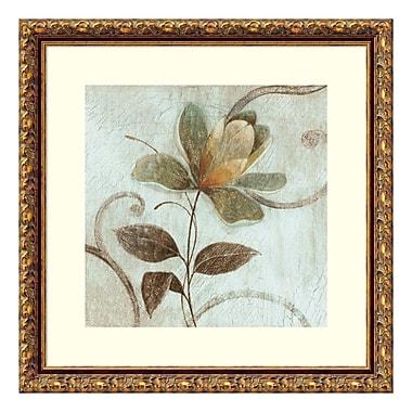 Amanti Art – Impression encadrée de « Floral Souvenir 1 » par Okre, 18 x 18 po (DSW3582383)