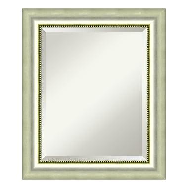 Amanti Art ? Miroir de salle de bain moyen, pour armoire standard de 24 à 28 po, argenté poli Vegas