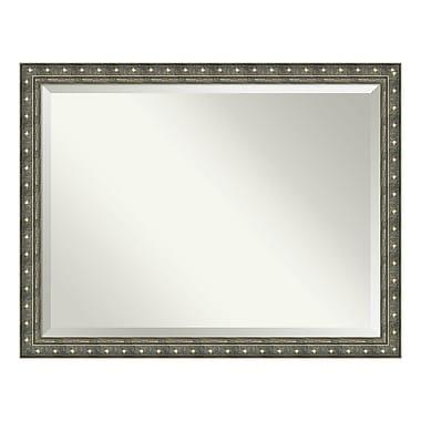Amanti Art – Miroir de salle de bain surdimensionné, armoire standard 36 à 48 po, champagne Barcelona, 44 x 34 po (DSW3940059)