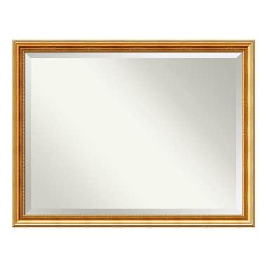 Amanti Art – Miroir de salle de bain surdimensionné, pour armoire standard 36 à 48 po, doré Townhouse, 43 x 33 po (DSW3940071)