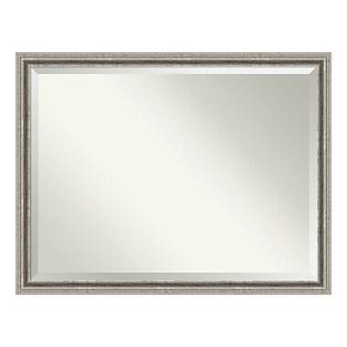 Amanti Art ? Miroir mural surdimensionné, argenté Bel Volto