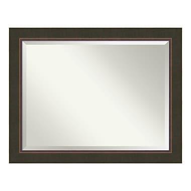 Amanti Art – Miroir de salle de bain, surdimensionné, armoire standard de 36 à 48 po, bronze Milano, 47 x 37 po (DSW3940138)