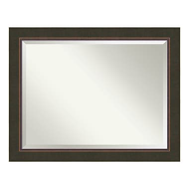 Amanti Art Bathroom Mirror Oversize Large, Fits Standard 36