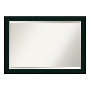 Amanti Art Wall Mirror Extra Large, Tribeca Black, 40