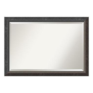 Amanti Art Wall Mirror Extra Large, Paragon Dark Silver, 40