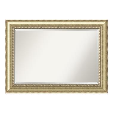 Amanti Art ? Très grand miroir de salle de bain, pour armoire standard de 30 à 48 po, champagne Astoria