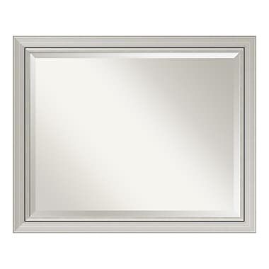 Amanti Art Bathroom Mirror Large, Fits Standard 30