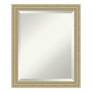 Amanti Art Wall Mirror Medium, Champagne Teardrop, 19