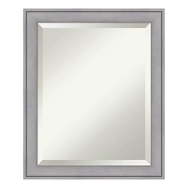 Amanti Art Wall Mirror Medium, Graywash, 19