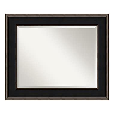 Amanti Art ? Grand miroir de salle de bain, pour armoire standard de 30 à 36 po, espresso Mezzanine
