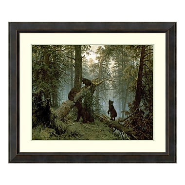 Amanti Art Framed Art Print 'Morning in a Pine Forest' by Ivan Ivanovich Shishkin, 39