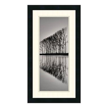 Amanti Art – Reproduction encadrée de « Reflections », 14 x 26 po (DSW140899)