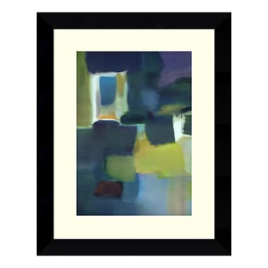 Amanti Art – Reproduction encadrée de « Entering The Poem » par Nancy Ortenstone, 20 x 25 po (DSW114468)