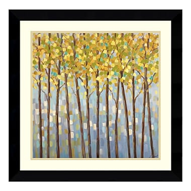 Amanti Art – Reproduction encadrée de « Glistening Tree Tops » de Libby Smart, 27 x 27 po (DSW114077)
